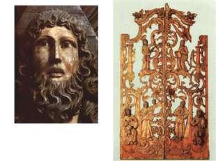 Царские врата, ХVIII в., 211x119x10, Дерево (сосна), левкас, темпера, позолот