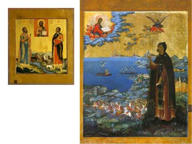 Александр Невский, Невьянская икона 19 века