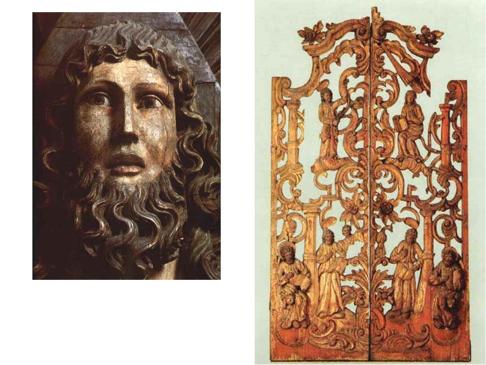 Царские врата, ХVIII в., 211x119x10, Дерево (сосна), левкас, темпера, позолот...