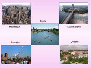 Manhattan Bronx Staten Island Brooklyn Queens