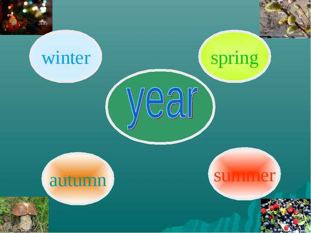 summer spring winter autumn