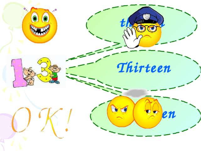 thiteen Thirteen threeteen