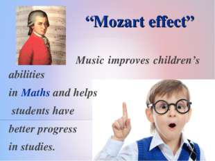 Music improves children's abilities in Maths and helps students have better