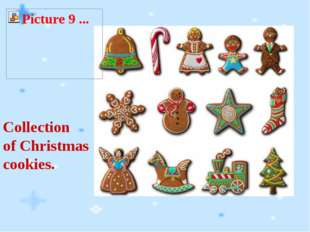 Collection of Christmas cookies.
