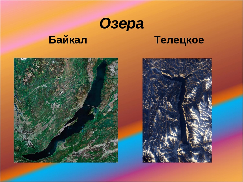 Озера Байкал Телецкое