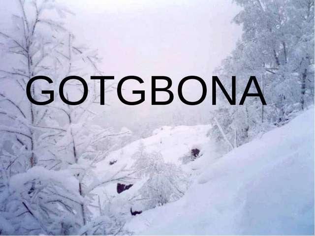 GOTGBONA