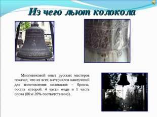 Многовековой опыт русских мастеров показал, что из всех материалов наилучший