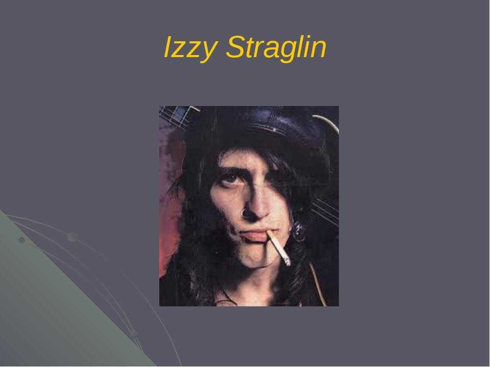 Izzy Straglin