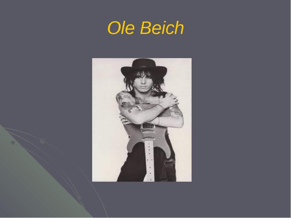 Ole Beich