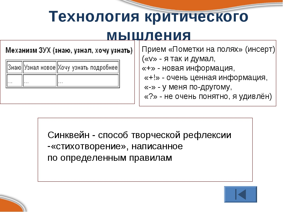 Технология критического мышления Прием «Пометки на полях» (инсерт) («v» - я т...