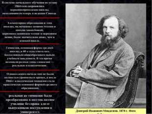 Дмитрий Иванович Менделеев. 1878г. Фото С.Левицкого
