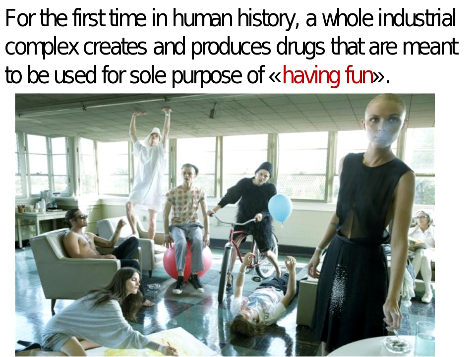 For the first time in human history, a whole industrial complex creates and p...