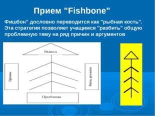 """Прием """"Fishbone"""" Фишбон"""" дословно переводится как """"рыбная кость"""". Эта стратег"""