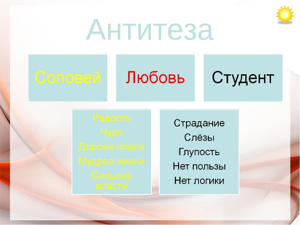 Антитеза