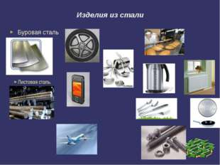 Изделия из стали Буровая сталь Листовая сталь.