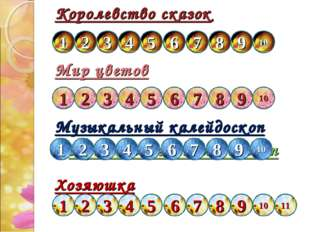 Королевство сказок Мир цветов Музыкальный калейдоскоп Музыкальный калейдоскоп