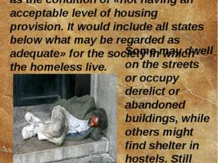 The book Strategies to Combat Homelessness, published by the United Nations C