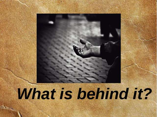 What is behind it? Chapter 3 Homelessness