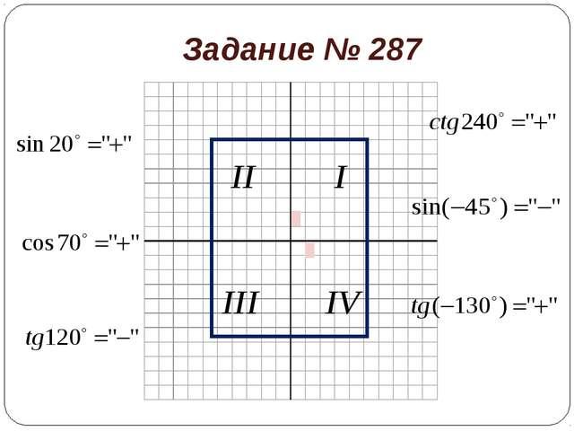 Задание № 287