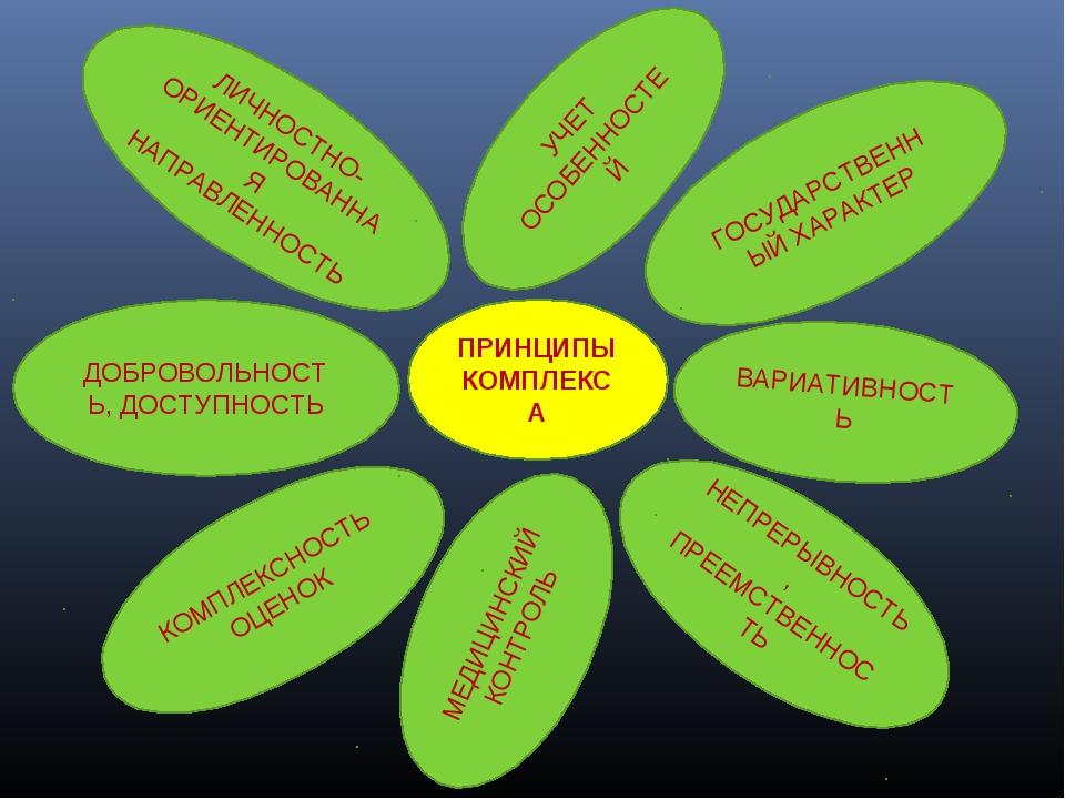 ПРИНЦИПЫ КОМПЛЕКСА ГОСУДАРСТВЕННЫЙ ХАРАКТЕР ЛИЧНОСТНО-ОРИЕНТИРОВАННАЯ НАПРАВЛ...