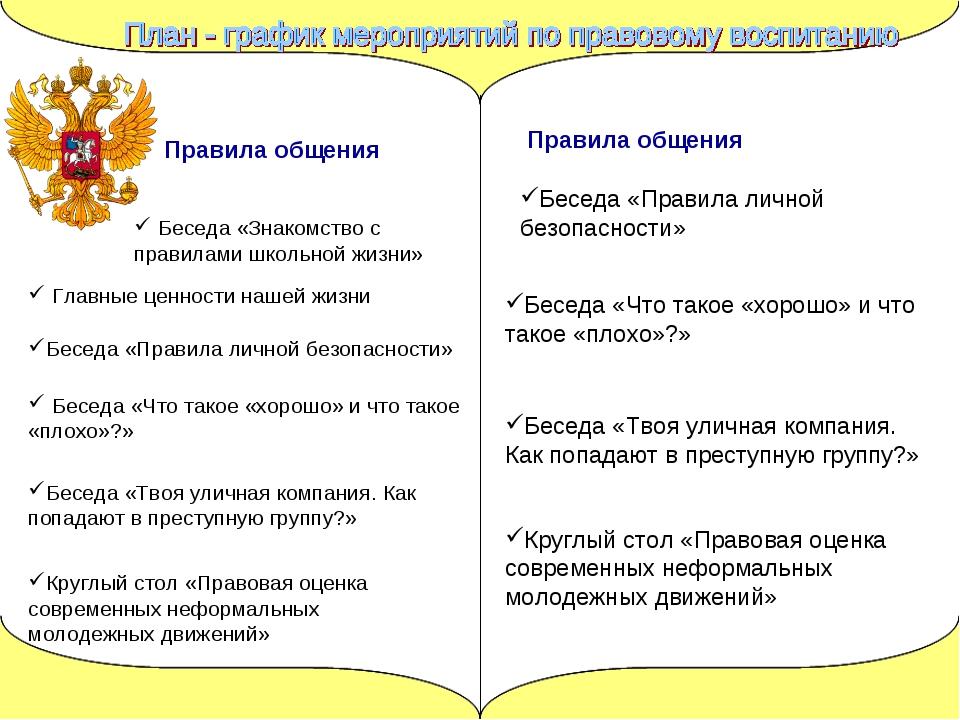 Круглый стол «Правовая оценка современных неформальных молодежных движений» Б...