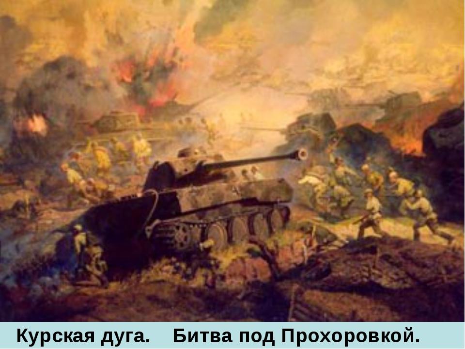 Курская дуга. Битва под Прохоровкой.