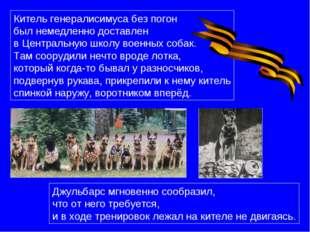 Китель генералисимуса без погон был немедленно доставлен в Центральную школу