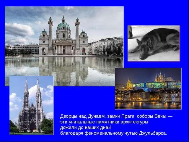 Дворцы над Дунаем, замки Праги, соборы Вены — эти уникальные памятники архите...