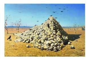 Художник Верещагин основательно изучал историю Отечественной войны 1812 года,