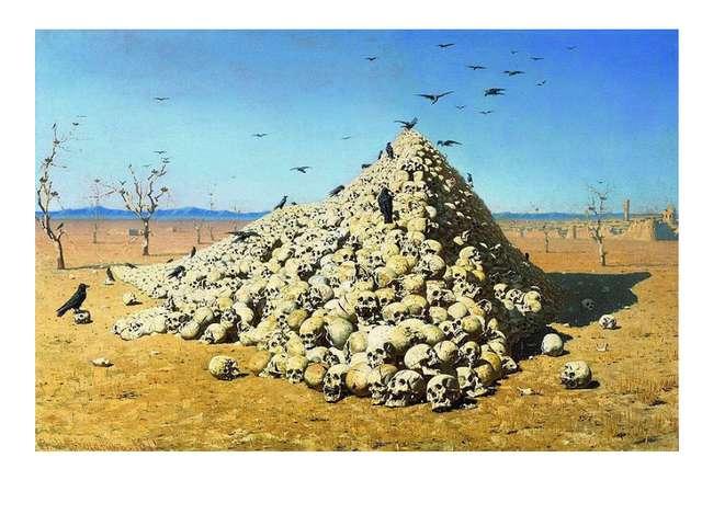 Художник Верещагин основательно изучал историю Отечественной войны 1812 года,...