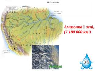 Амазонка өзені, (7180000 км²)