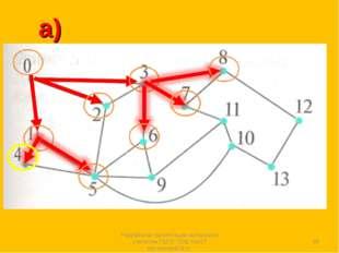 а) * Разработка презентации выполнена учителем ГБОУ СОШ №167 Костеновой М.Н.