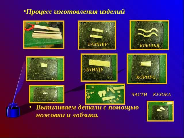 Выпиливаем детали с помощью ножовки и лобзика. Процесс изготовления изделий Б...