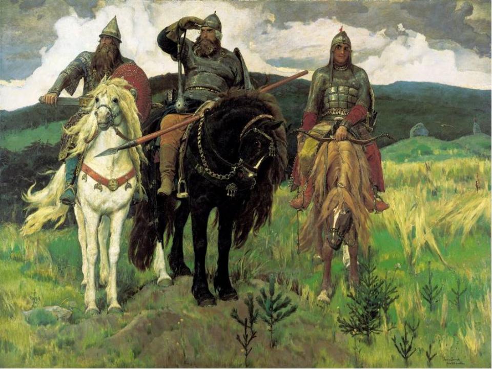 В. Васнецов «Богатыри»