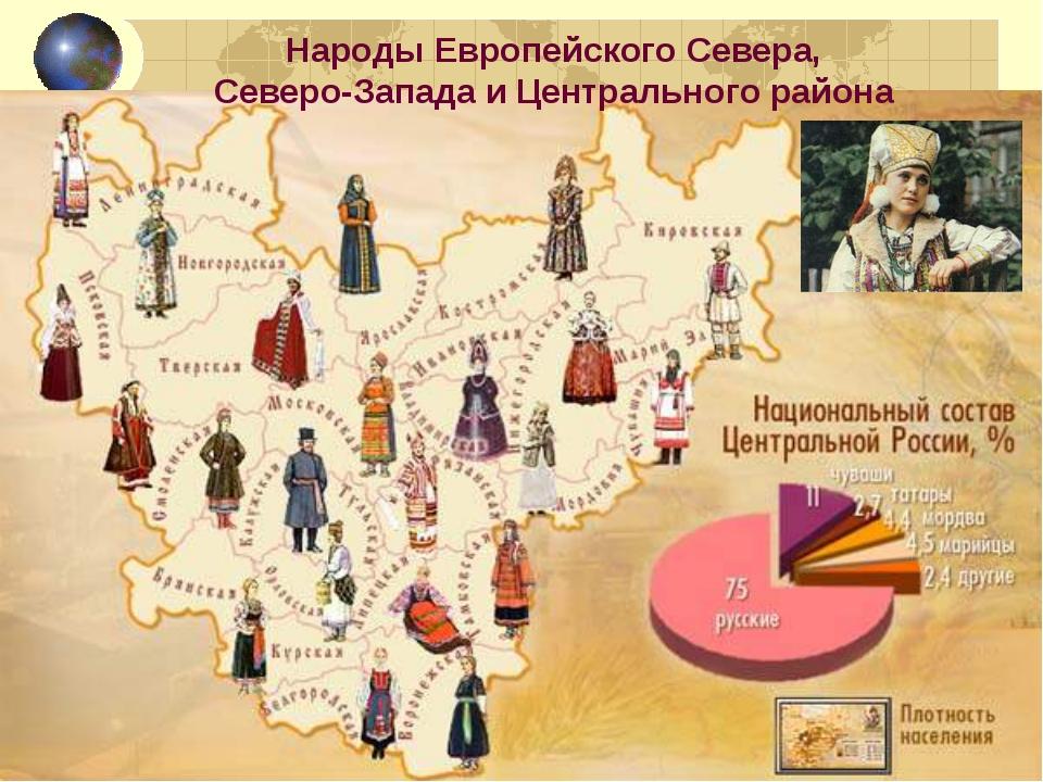 Народы Европейского Севера, Северо-Запада и Центрального района