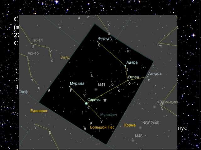 Самая близкая из других звёзд – АЛЬФА ЦЕНТАВРА (из созвездия Центавра) распол...