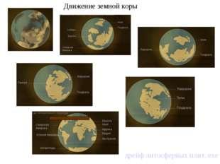 Движение земной коры дрейф литосферных плит. exe