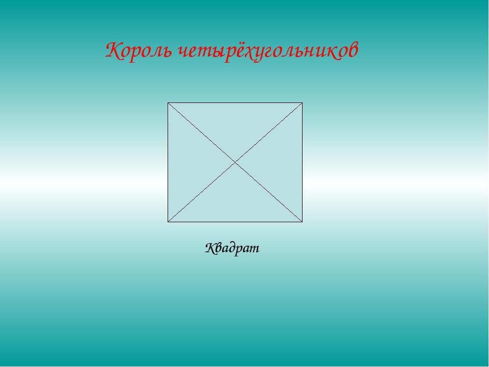 Квадрат Король четырёхугольников