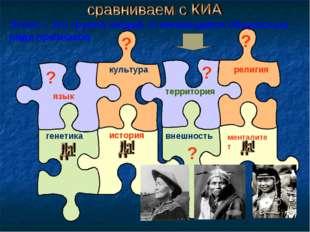 Этнос – это группа людей, отличающаяся общностью ряда признаков язык культура