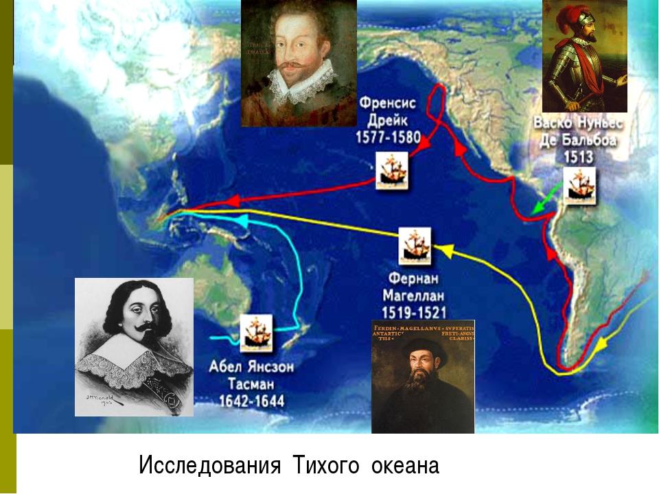 Исследования Тихого океана