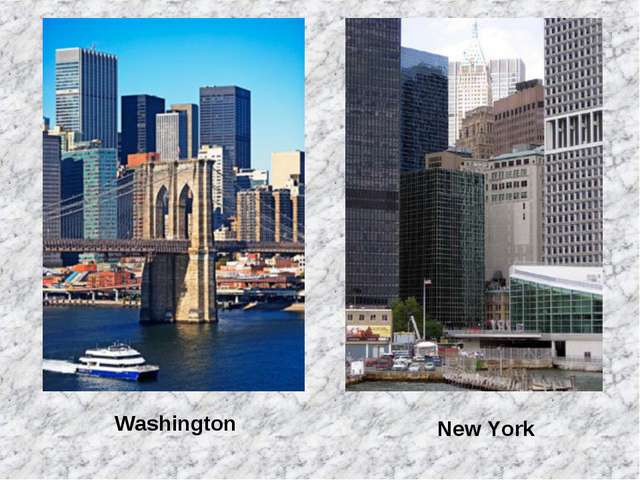 Washington New York