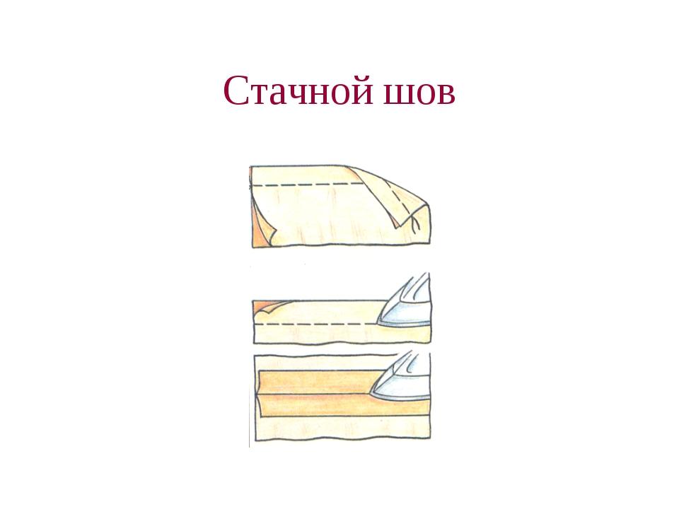 Стачной шов