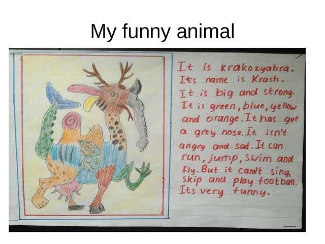 My funny animal