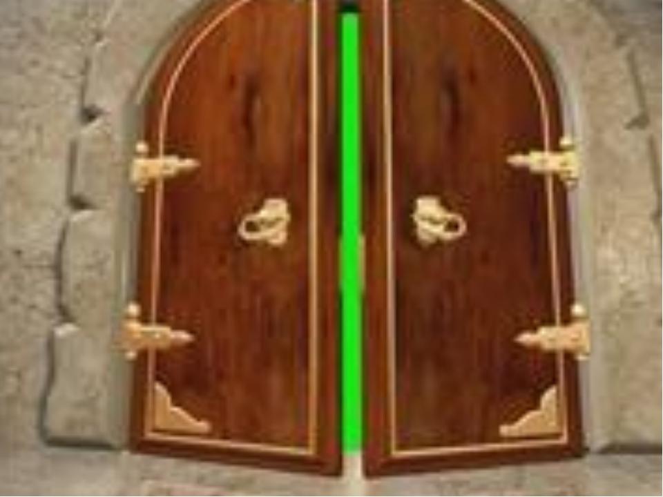 Картинка анимация открывающаяся дверь