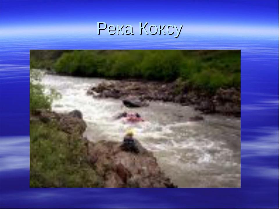 Река Коксу