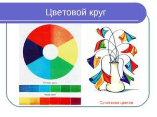 Цветовой круг Сочетание цветов