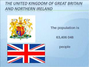 The population is 63,406 048 people