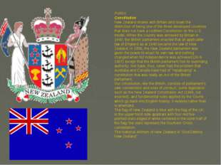 Politics Constitution New Zealand shares with Britain and Israel the distinct