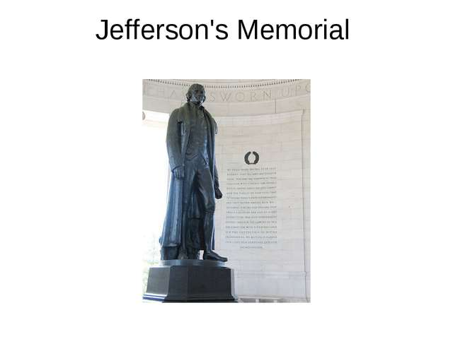 Jefferson's Memorial
