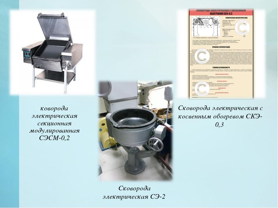 Сковорода электрическая секционная модулированная СЭСМ-0,2 Сковорода электри...